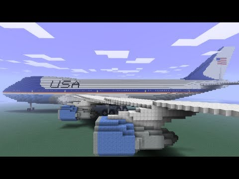 Minecraft Mod Showcase : AIRCRAFT !