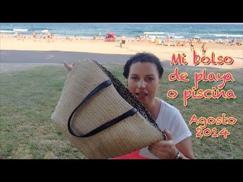 Mi bolso de playa o piscina (Agosto 2014)