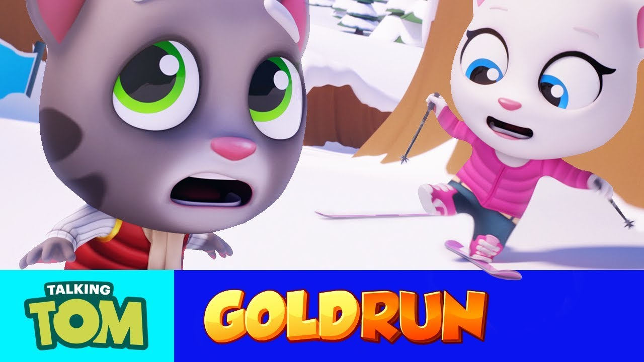 Talking Tom Gold Run - Epic Snow Run (NEW Update Trailer)