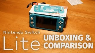 Nintendo Switch Lite Unboxing & Comparison