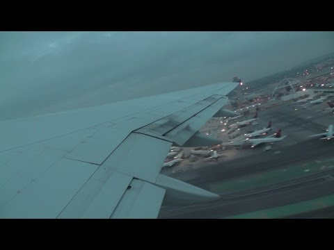 Delta Air Lines Boeing 757-200 N751AT Departing Los Angeles Airport