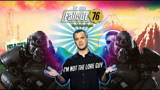 Fallout 76 Changes Lore again, but Don't take it to Pete Hines