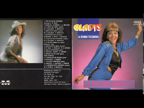 GLADYS LA BOMBA TUCUMANA LA POLLERA AMARILLA CD COMPLETO