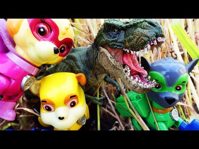 ЩЕНЯЧИЙ ПАТРУЛЬ новые серии Мультики Динозавры и Щенки Мультфильм для детей Игрушки Paw Patrol