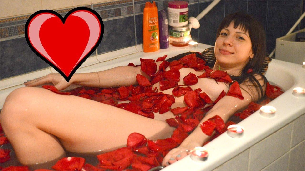 Секс видео дома в ванной 387