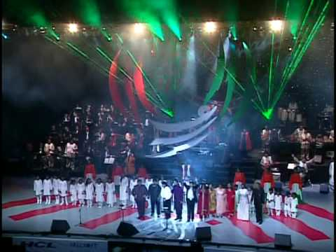 A.R.Rahman Concert LA Part 3741 Jana Gana Mana