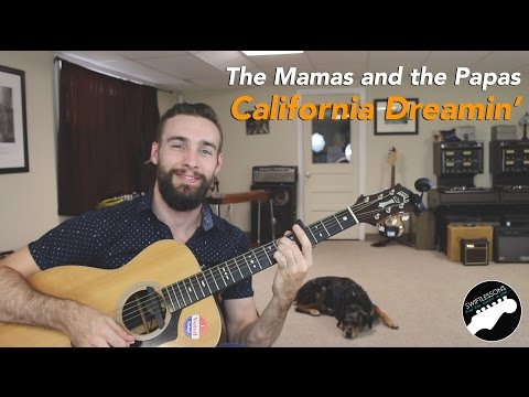 Mamas & The Papas - California dreaming  intro for   guitar