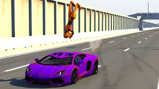 BeamNG DRIVE Random Vehicles Crash Testing Part 7