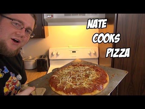 Nate Cooks Pizza - Old School Otaku Eats - Man Food Vol 1