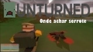 Unturned onde encontrar serrote!! no mapa washington!!!