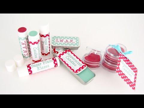 Making Lip Balm, a Wonderful Holiday Gift