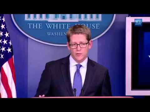 Fox News' Ed Henry Walks Out of White House Briefing After Jay Carney Ignores Him Twice
