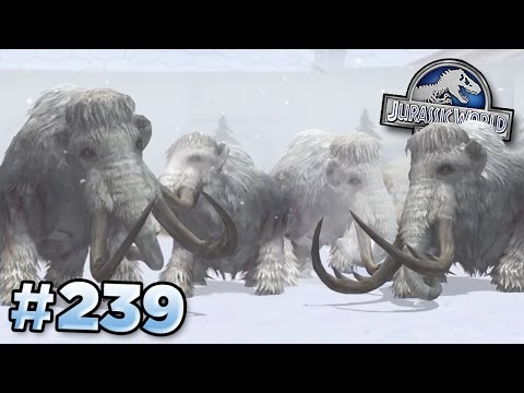 4 Mammoths Are Better Than 3! || Jurassic World - The Game - Ep239 HD