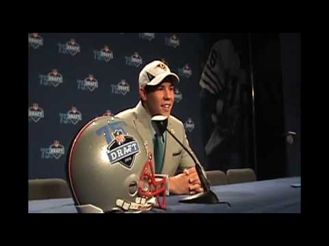 Sam Bradford St. Louis Rams NFL Draft interview Video