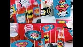 "Printables ""Superheroes"""