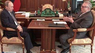 Жириновский поговорил с Путиным об амнистии