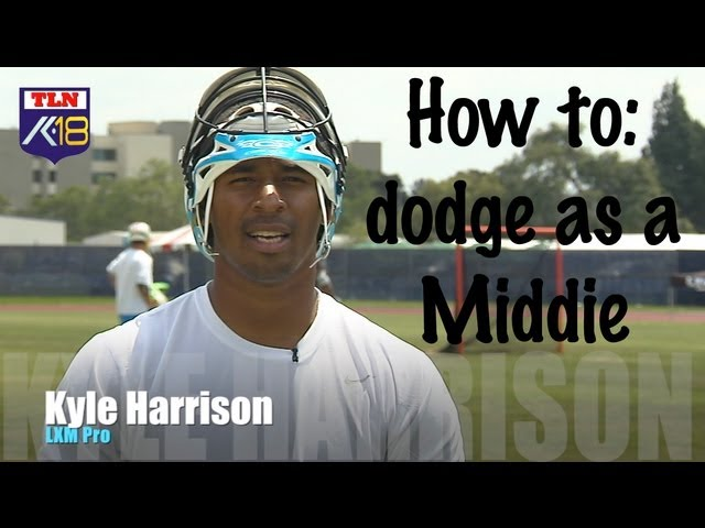 How to Lacrosse Dodge Kyle Harrison: Midfield Dodging