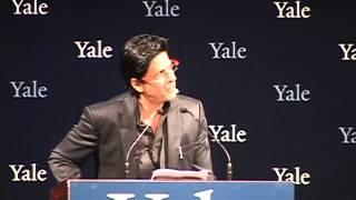 Shah Rukh Khan at Yale as Chubb Fellow