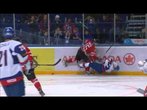 Canada-Slovakia 6-3 - 2013 IIHF Ice Hockey U20 World Championship 28.12.12