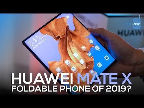 Huawei Mate X: pierwsze spojrzenie na składany telefon rodem z science fiction