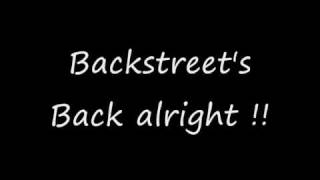 Backstreet boys everybody lyrics