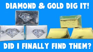 Dig It! Diamond and Gold in Water! Will I Find a Diamond or Gold This Time?