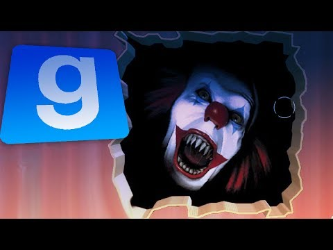HAUNTED BY PENNYWISE THE CLOWN!! Gmod Scary Pennywise IT Mod! (Garry's Mod IT 2017)