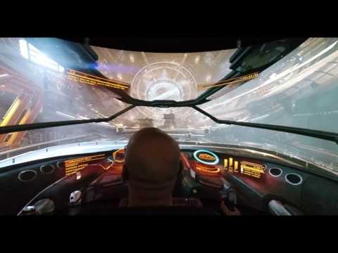 Icarus Avenger PRO and Elite Dangerous in 4K filmed in 4K at 60fps