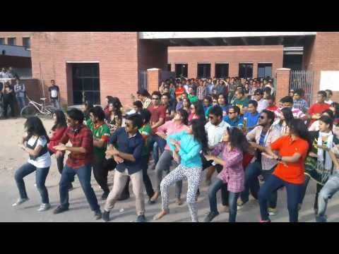 ICC World Twenty20 Bangladesh 2014 Flash Mob East West University, Uncut Video by ECPA