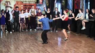 Eugenia Tsvetkova & Alexey Filippenkov  - Slow Round at Russian Open Swing Dance Championship  2011