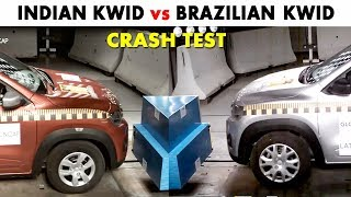Renault Kwid Crash Test - Indian vs Brazilian Version - Safe Cars For India - RicTheCarLover