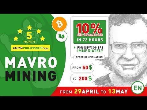 MAVRO-Mining +10% in 72 hours (EN) | MMM Philippines