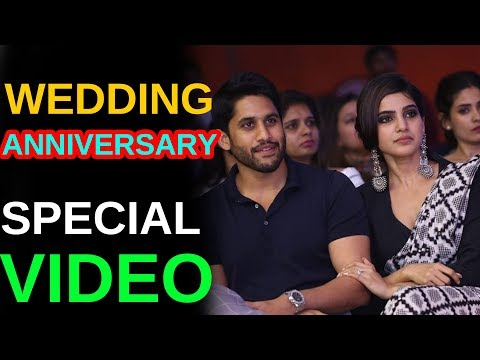 Naga Chaitanya & Samantha Wedding Aniversary Special Video || Celebrity Updates || Telugu Small Tv