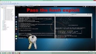 Pass the Hash exploit from the same windows template