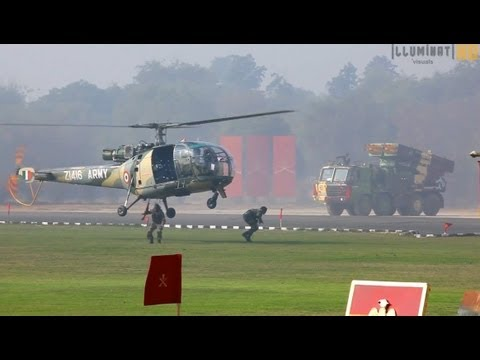 Chetak Helicopters Battle Drill By Indian Army video