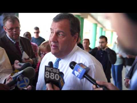 What happens when you bring Chris Christie to the MVC?