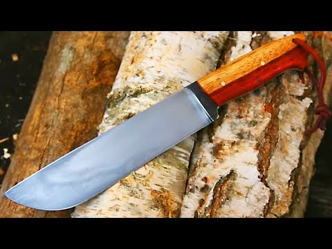 Knifemaking Tutorial - Making A Knife With Hamon video