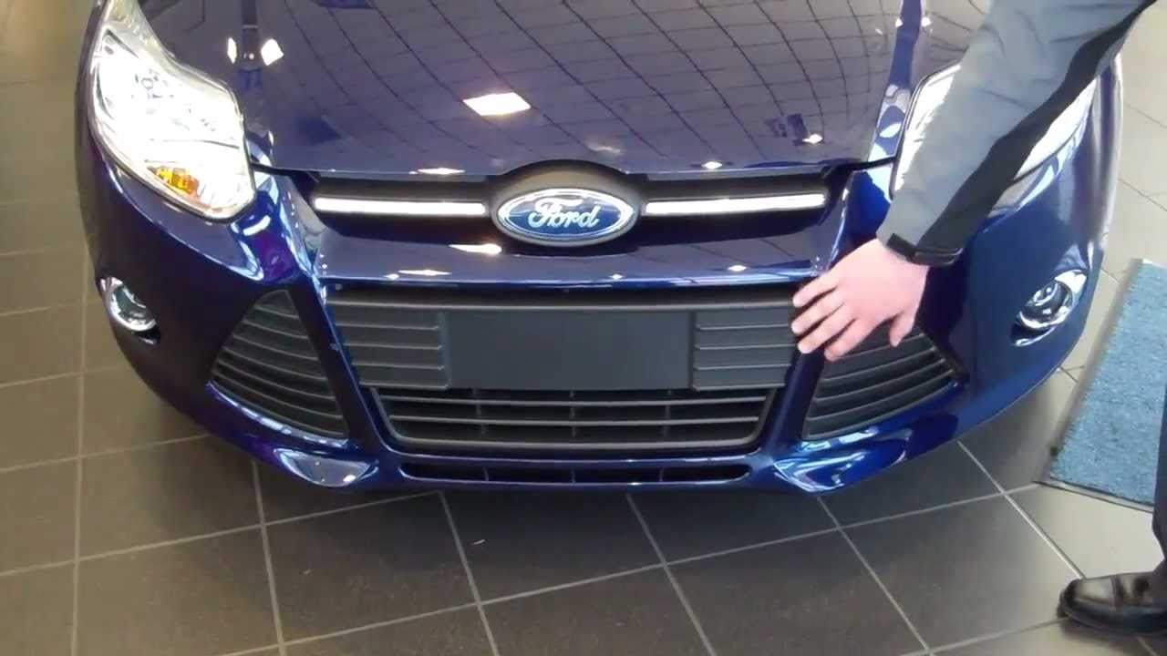 Active Grille Shutters | Cheat the Wind | 2012 Ford Focus ...