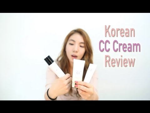 Korean CC Cream Trend and Review