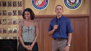 President (Obama) Speaks to Troops at Marine Corps Base Hawaii  12/26/13