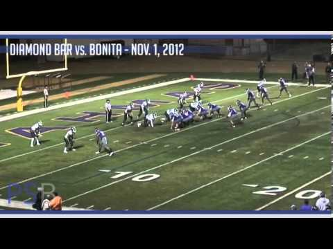 High School Football: Diamond Bar vs. Bonita, Nov. 1, 2012