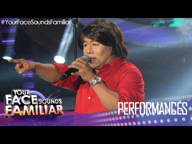 """Your Face Sounds Familiar: Eric Nicolas as Jet Pangan - """"Salamat"""""""