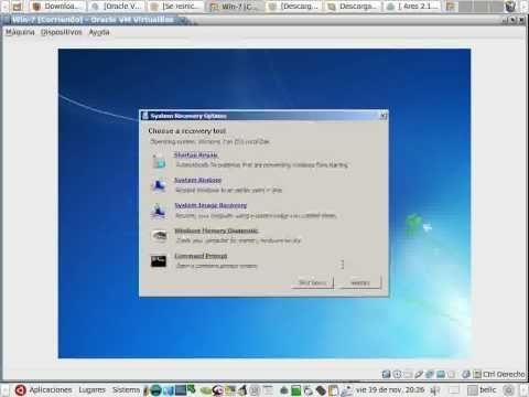 2 de 3 Reparar inicio Mbr Windows 7 y Vista con Cd consejos