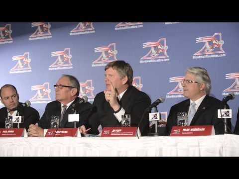 Dan Hawkins devient le 20e entraîneur-chef des Alouettes de Montréal (Conférence de presse)