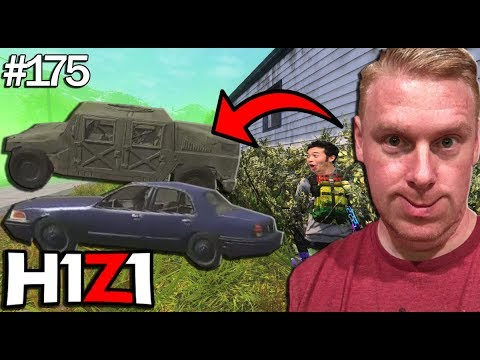 DEVELOPER SHOWS THE NEW VEHICLES! (MILITARY JEEP SOON!) H1Z1 - Best Oddshots & Funny Moments #175