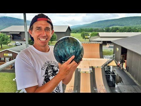 Bowling with Joey Brezinski at Woodward Camp