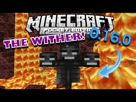 INSANE WITHER BOSS BATTLE in MCPE 0.16.0!   Minecraft PE (Pocket Edition)   How to Spawn The Wither