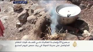 قتلى وجرحى جراء قصف النظام على الحولة بريف حمص