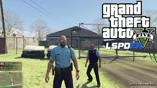 GTA 5 - LSPDFR - EPiSODE 24 - LET'S BE COPS - ALASKA STATE TROOPERS (GTA 5 PC POLICE MODS)