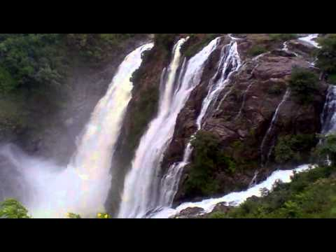 Best tourist Places Near Bangalore Shivasamudram - Largest Waterfall in Karnataka